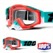 100% THE RACECRAFT Cubica Goggles - Clear Lens