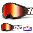 100% THE ACCURI Krick Goggles - Red Mirror Lens