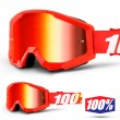 100% THE STRATA Furnace Goggles - Red Mirror Lens