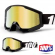 100% THE STRATA Outlaw Goggles - Gold Mirror Lens