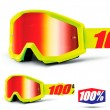 100% THE STRATA Mercury Goggles - Red Mirror Lens