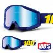 100% THE STRATA Hope Goggles - Blue Mirror Lens