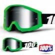 100% THE STRATA Arkon Goggles - Silver Mirror Lens