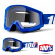 100% THE STRATA Nation Goggles - Clear Lens