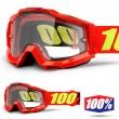 100% THE ACCURI ENDURO Saarinen Goggles - Dual Clear Lens