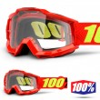 100% THE ACCURI OTG Saarinen Goggles - Clear Lens