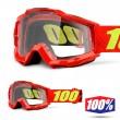 100% THE ACCURI JUNIOR Saarinen MX Goggles - Clear Lens