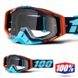 100% THE RACECRAFT Ergono MX Goggles - Clear Lens