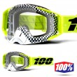 100% THE RACECRAFT Andre MX Goggles - Clear Lens