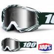 100% THE ACCURI Bali MX Goggles - Silver Mirror Lens