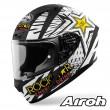 Airoh VALOR Rockstar Full Face Helmet - Matt