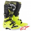 Alpinestars TECH 7 MX Boots - Yellow Fluo Military Green Black