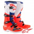 Alpinestars TECH 5 MX Boots - Red Fluo Blue White