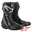 Alpinestars SUPERTECH R Boots - Black Dark Grey Red Fluo
