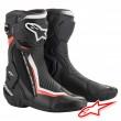 Alpinestars SMX PLUS V2 Boots - Black White Red Fluo