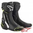 Alpinestars SMX PLUS V2 Boots - Black White Yellow Fluo