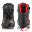 Alpinestars FASTER-3 Riding Shoes - Black Grey Red
