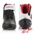 Alpinestars FASTER-3 RIDEKNIT Riding Shoes - Black White Red
