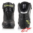 Alpinestars SP-1 Riding Shoes - Black Silver Yellow Fluo