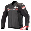 Alpinestars GP-R V2 TECH-AIR™ Airbag Leather Jacket - Black Bright Red