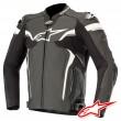 Alpinestars CELER V2 Leather Jacket - Black White