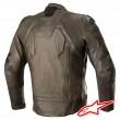 Alpinestars CALIBER Leather Jacket - Brown