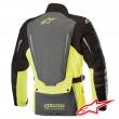 Alpinestars YAGUARA DRYSTAR TECH-AIR™ Airbag Jacket - Black Dark Grey Yellow Fluo