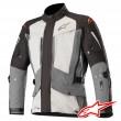 Alpinestars YAGUARA DRYSTAR TECH-AIR™ Airbag Jacket - Black Dark Grey Mid Grey