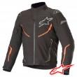 Alpinestars T-FUSE SPORT WATERPROOF Jacket - Black Red Fluo