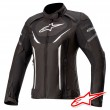 Alpinestars STELLA T-JAWS V3 WATERPROOF Jacket - Black White