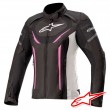 Alpinestars STELLA T-JAWS V3 WATERPROOF Jacket - Black White Fuchsia