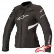 Alpinestars STELLA T-KIRA WATERPROOF Women's Jacket - Black White