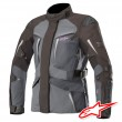 Alpinestars STELLA YAGUARA DRYSTAR TECH-AIR™ Airbag Women's Jacket - Black Dark Grey Mid Grey