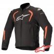 Alpinestars T-GP PRO V2 Jacket - Black Red Fluo