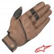 Alpinestars CRAZY EIGHT Leather Gloves - Brown Black