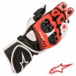 Alpinestars GP PLUS R V2 Gloves - Black White Bright Red
