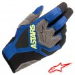 Alpinestars VENTURE R MX Gloves - Blue Yellow Fluo