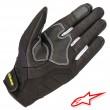 Alpinestars KINETIC Gloves - Black Yellow Fluo