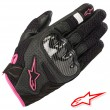 Alpinestars STELLA SMX-1 AIR V2 Women's Gloves - Black Fuchsia
