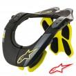 Alpinestars BNS TECH-2 Neck Support - Black Yellow Fluo
