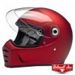 Biltwell LANE SPLITTER Full Face Helmet - Flat Red