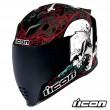 Icon AIRFLITE Skull 18 Full Face Helmet - Glory