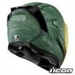 Icon AIRFLITE Battlescar 2 Full Face Helmet - Green