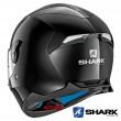 Shark SKWAL 2 Blank Full Face Helmet - Black