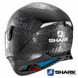 Shark SKWAL 2 Switch Riders 2 Mat Full Face Helmet - Black Anthracite Silver