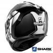Shark SPARTAN GT CARBON Shestter Full Face Helmet - Carbon White