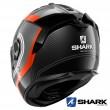 Shark SPARTAN GT CARBON Tracker Full Face Helmet - Carbon Anthracite White