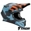 Thor SECTOR MOSSER Dirt Bike Helmet - Blue Camo