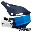 Thor SECTOR RACER Dirt Bike Helmet - Navy Blue