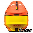 Thor SECTOR RACER Dirt Bike Helmet - Orange Midnight